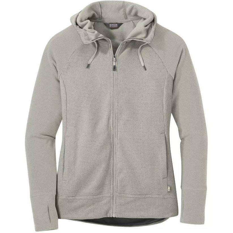 Outdoor Research Womens Trail Mix Hoodie,WOMENSMIDLAYERSFULL ZIPS,OUTDOOR RESEARCH,Gear Up For Outdoors,