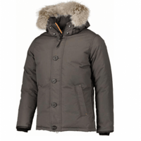 Outdoor Survival Canada Mens Nyik Parka,MENSDOWNWP REGULAR,OUTDOOR SURVIVAL CANADA,Gear Up For Outdoors,