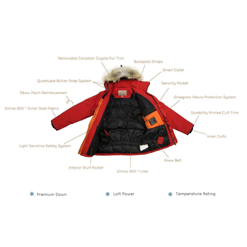Outdoor Survival Canada Mission Parka,MENSDOWNWP REGULAR,OUTDOOR SURVIVAL CANADA,Gear Up For Outdoors,