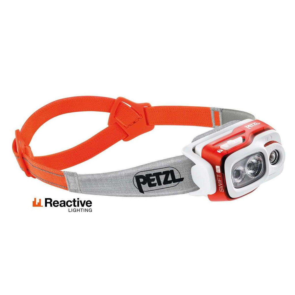 Petzl Swift RL Headlamp 900 Lumens,EQUIPMENTLIGHTHEADLAMPS,PETZL,Gear Up For Outdoors,