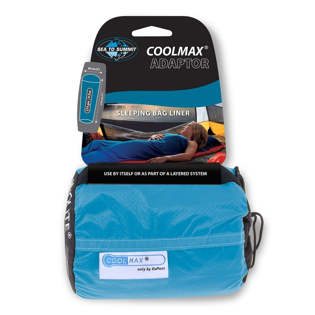Sea to Summit Coolmax Adaptor Sleeping Bag Liner,EQUIPMENTSLEEPINGACCESSORYS,SEA TO SUMMIT,Gear Up For Outdoors,