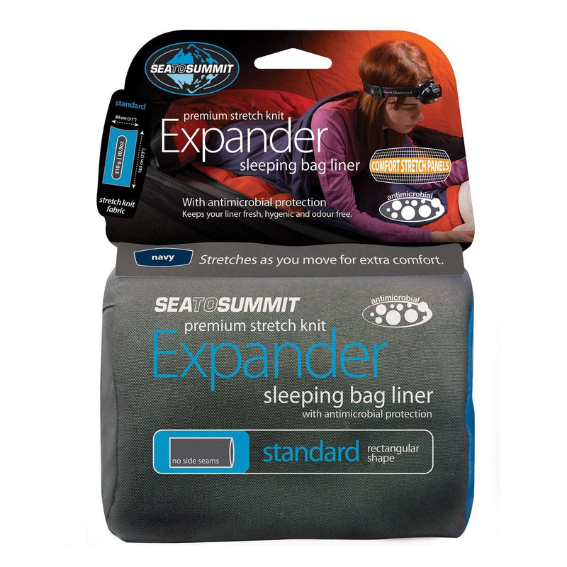 Sea to Summit Expander Sleeping Bag Liner,EQUIPMENTSLEEPINGACCESSORYS,SEA TO SUMMIT,Gear Up For Outdoors,