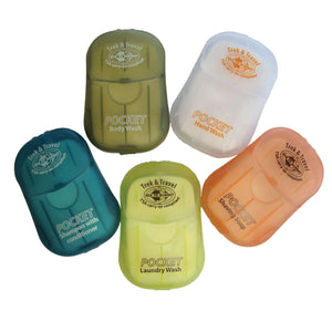Sea to Summit Trek & Travel Pocket Soaps 5 Types,EQUIPMENTTOILETRIESSOAP,SEA TO SUMMIT,Gear Up For Outdoors,