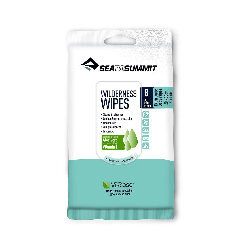 Sea to Summit Wilderness Wipes 2 Sizes,EQUIPMENTTOILETRIESSOAP,SEA TO SUMMIT,Gear Up For Outdoors,
