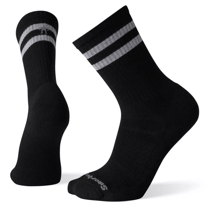 Smartwool Mens Athletic Light Elite Stripe Crew Socks,MENSSOCKSLIGHT,SMARTWOOL,Gear Up For Outdoors,
