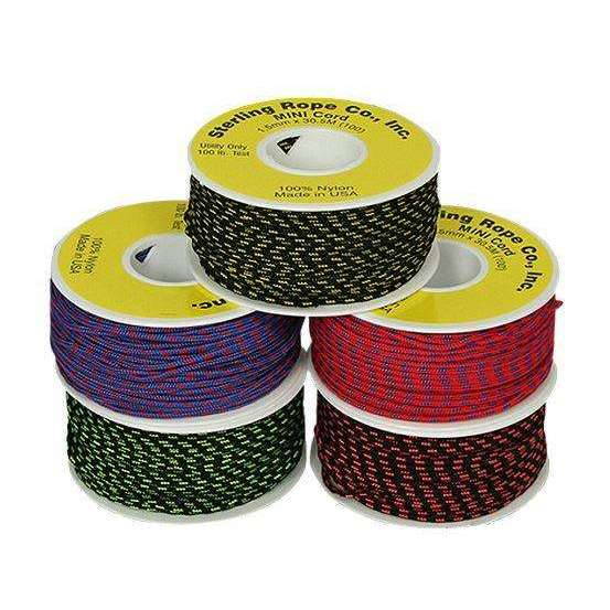 Sterling Accessory Cord 2mm,EQUIPMENTMAINTAINCORD WBBNG,STERLING,Gear Up For Outdoors,