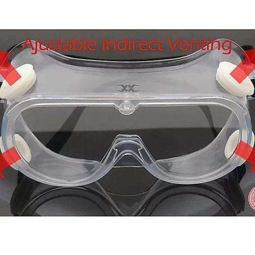 FRONT LINE Classic Full Facial Safety Goggle Eye Protection,EQUIPMENTEYEWEARSPECIALIZE,FRONT LINE,Gear Up For Outdoors,