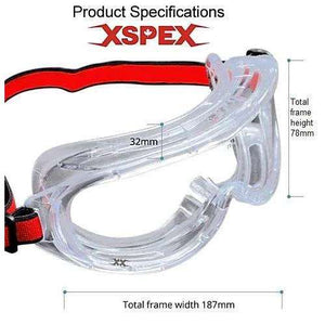 FRONT LINE Vision Full Facial Safety Goggle Eye Protection,EQUIPMENTEYEWEARSPECIALIZE,FRONT LINE,Gear Up For Outdoors,