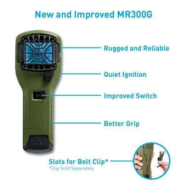 Thermacell M300 Portable Mosquito Repeller,EQUIPMENTPREVENTIONBUG STUFF,THERMACELL,Gear Up For Outdoors,