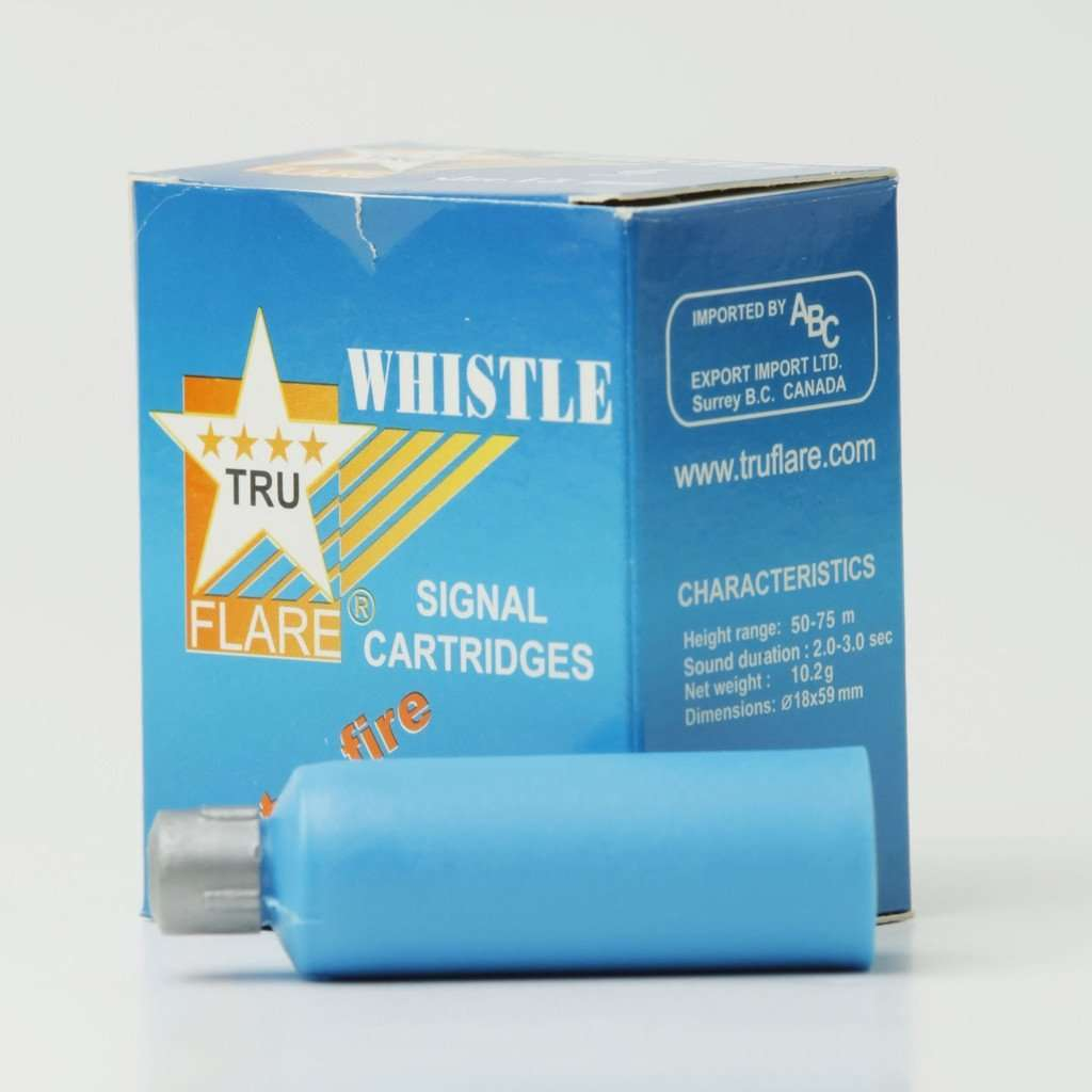 TruFlare Whistle Flares - Centre Fire,EQUIPMENTPREVENTIONFLRE WHSTL,TRUFLARE,Gear Up For Outdoors,