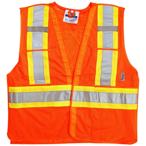 Viking 5 Point Tear Away Safety Vest - Mesh,MENSWORKWEARALL,VIKING,Gear Up For Outdoors,