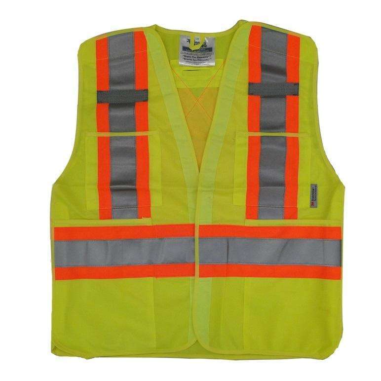 Viking 5 Point Tear Away Safety Vest - Polyester,MENSWORKWEARALL,VIKING,Gear Up For Outdoors,