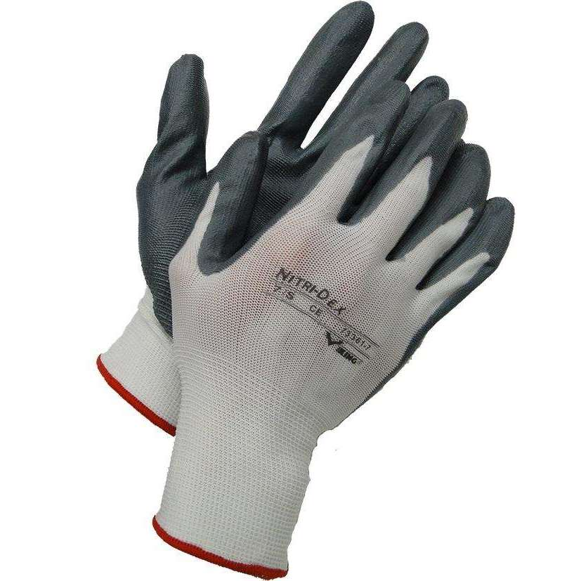 Viking Nitri-Dex Seamless Knit Breathable/Wear Resistant Work Gloves,MENSGLOVESWORK,VIKING,Gear Up For Outdoors,