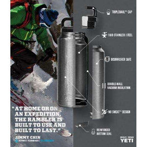 Yeti Rambler 18oz Chug Bottle,EQUIPMENTHYDRATIONWATBLT IMT,YETI,Gear Up For Outdoors,