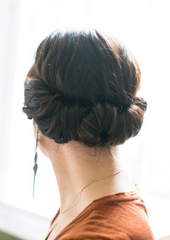 coiffure simple pour mariage