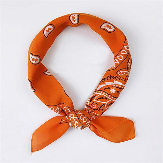Bandana Orange Lantana | Pince & Barrette