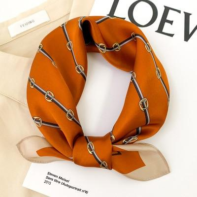 Bandana Orange Uni | Pince & Barrette