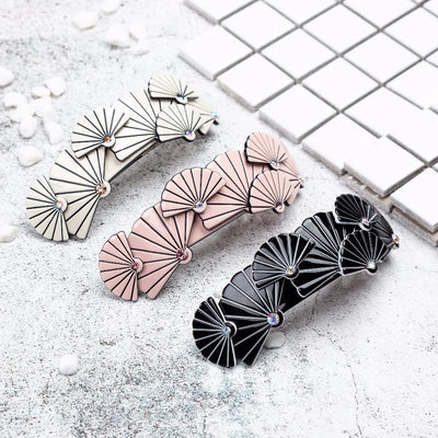 barrette cheveux longs collection