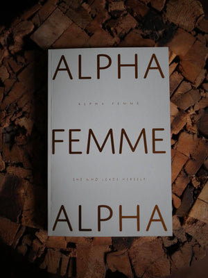 Notebook - ALPHA FEMME - Gold on Green