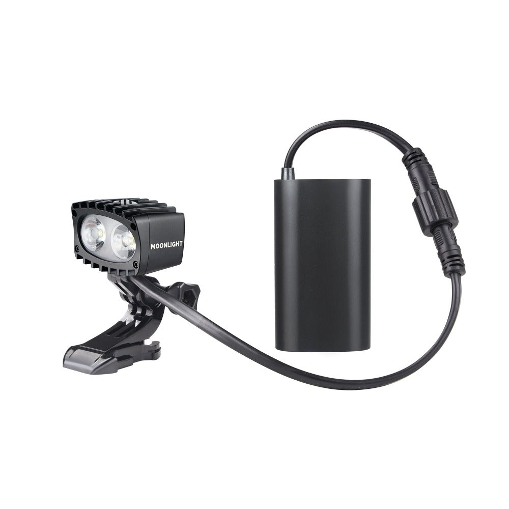 Bright As Day 1200 Moonlight headlamp NZ with battery pack