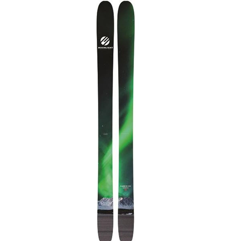 Carbon 105 lightweight Moonlight Skis from The Snow Department NZ