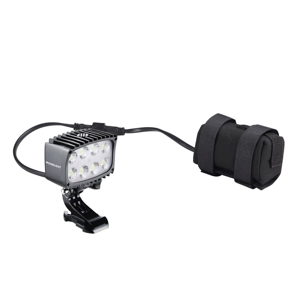 Bright As Day 2800 Moonlight headlamp NZ with battery pack from The Snow Department