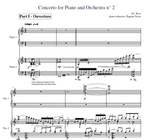 2nd Piano Concerto reduction 2 piano's