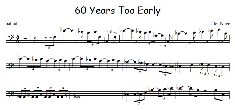 60 years Too Early