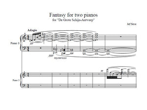 Fantasy For 2 Piano's