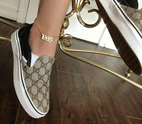 Year Pendant Anklet