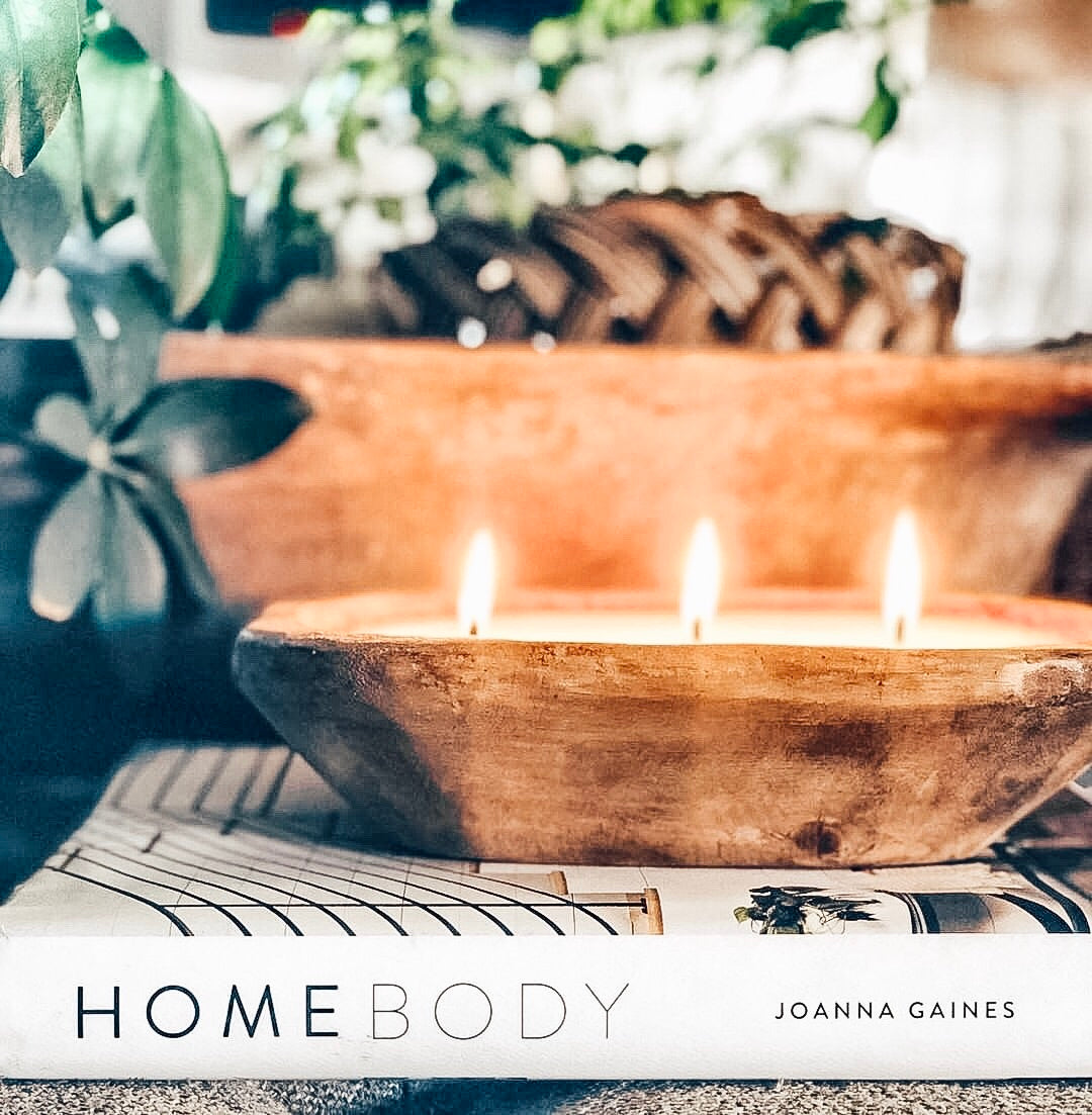 Small Dough Bowl Soy Candle