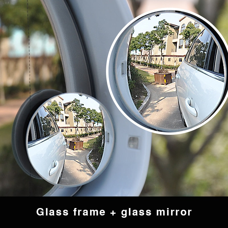 Blind Spot Mirror Wide Angle Round