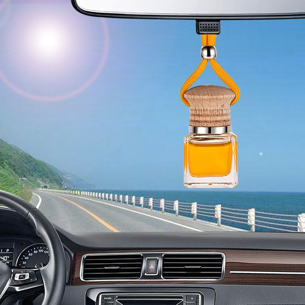 Hanging Bottle Air Freshener Car Perfume