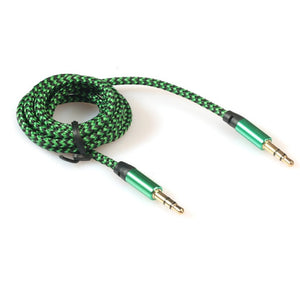 3.5mm Stereo Car Auxiliary Audio Cable Male To Male