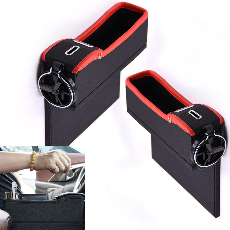Car Seat Storage Box Cup Drink Holder