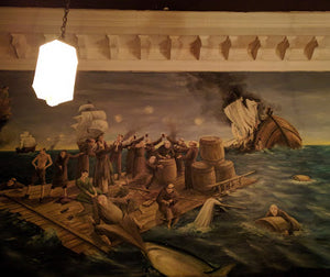 Six of Manhattan's Best Bar Murals As I Chomp at the Bit to Return to Them