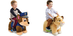 Disney Lion King OR PAW Patrol Chase 6V Plush Ride-On Toys Only $44.00!