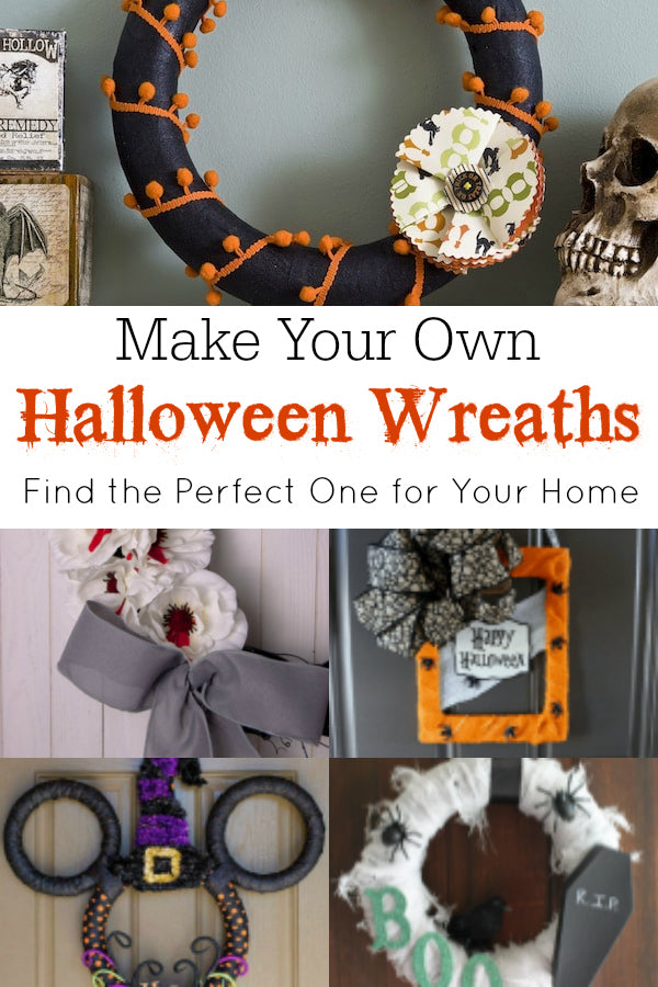 Ready for Halloween decor? Make one of these fun DIY Halloween wreaths