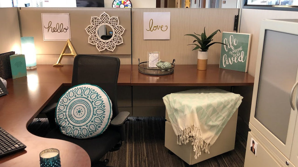 "Taking small spaces and designing on a dime! We're exploring office cubicles for National Cubicle Day! ""Cubicle Day presents an opportunity for ..."