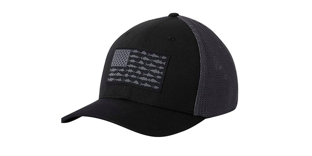 Amazon is currently offering Columbia PFG Mesh Fish Flag Ball Cap in black for $14.90 Prime shipped