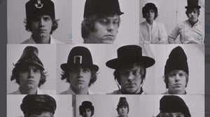 "The rejected hat styles of ""A Clockwork Orange"""