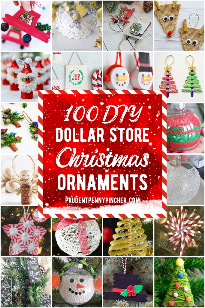Add a personal touch to your christmas tree on a budget with these dollar store DIY Christmas ornament