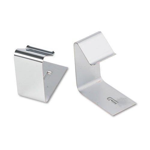 Flexible Metal Cubicle Hangers for 1 1/2 to 2 1/2in Panels, 2/Set, Sold as 2 Each