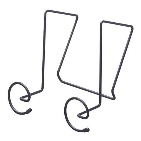 "SafcProducts Company - Panel Coat Hooks,Spiral Shaped,6-7/8""x5-1/4""x7-1/4"",Charcoal"