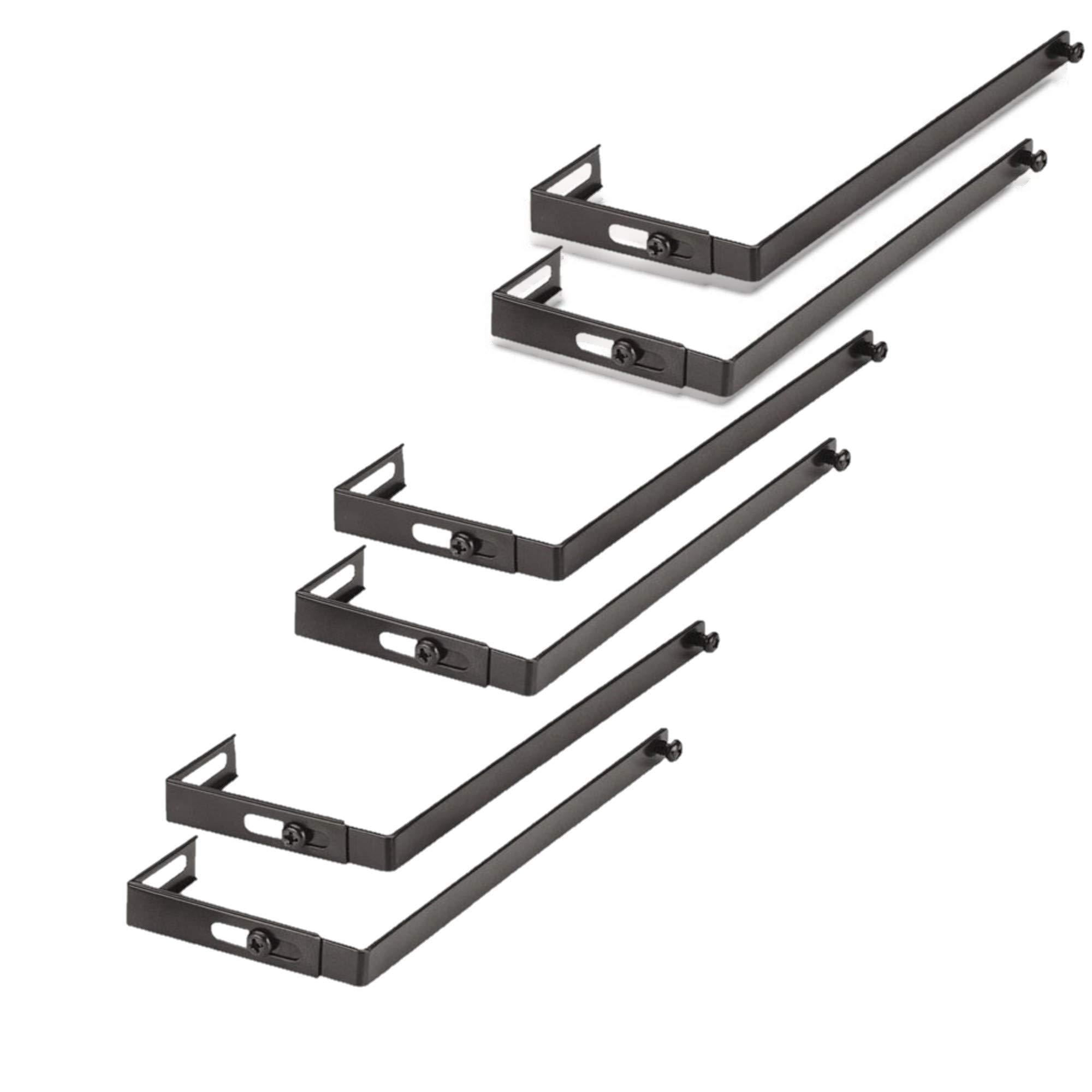Adjustable Cubicle Hangers, Set of Six