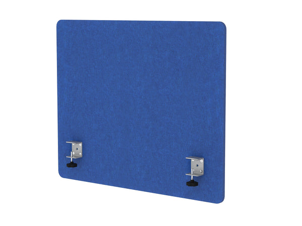 Organize with varoom acoustic partition sound absorbing desk divider kit 1 60 w x 24h back panel 2 30w x 24h side panels privacy desk mounted cubicle panels cobalt blue