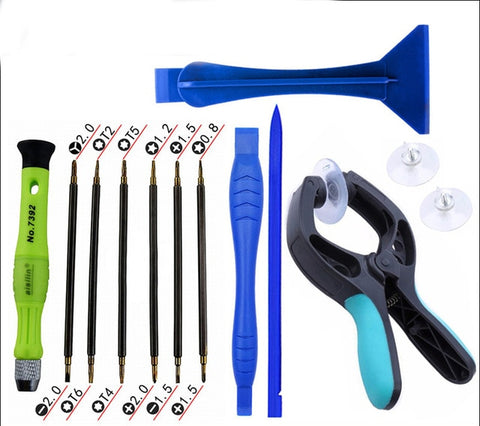 23pcs Multi Precision Screwdriver Repair Tools Mobile Phone Opening LCD Screen Plier Suction Cup Repair Tool Set For Iphone
