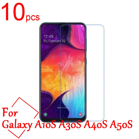 10pcs Clear/Matte/Nano Anti-scratch LCD Screen Protector Cover for Samsung Galaxy A10S A20S A30S A40S A50S A70S Protective Film