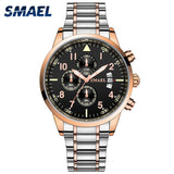 2020 Quartz Men Watches 30M Waterproof Quartz Clock Stainless Steel Band Great Quality item