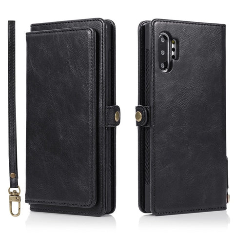 Flip Leather Wallet Case For Samsung Galaxy S8 S9 S10 E S20 Ultra Note 8 9 10 Plus A10 A20 A30 A40 A50 s A70 A51 A71 Phone Cover